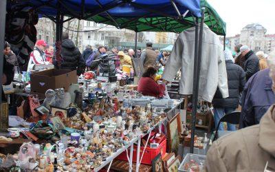 Il Naschmarkt, non solo antiquariato a Vienna – Foto
