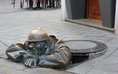 Le statue di Bratislava