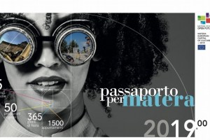 passaporto per Matera 2019