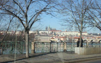 Il tram 17 a Praga