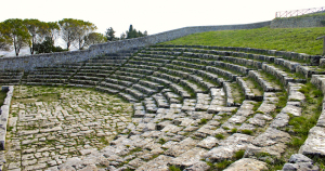 teatro greco Akrai Palazzolo Acreide