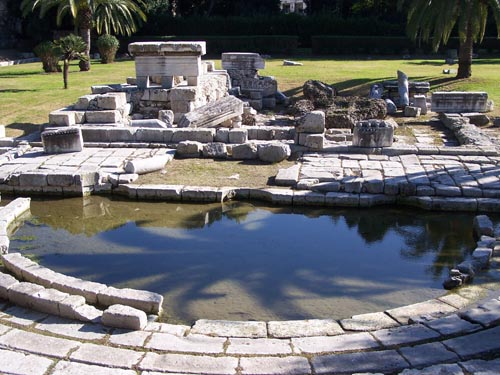 siracusa ginnasio romano