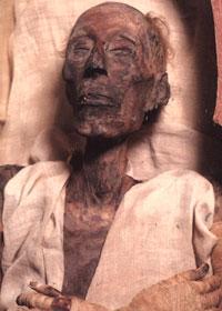 Mummia del Faraone Ramses II