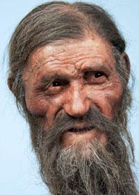 Ricostruzione del volto di Otzi
