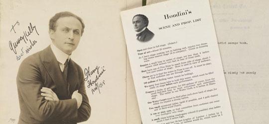 Harry Houdini e l'arte segreta dell'escapologia