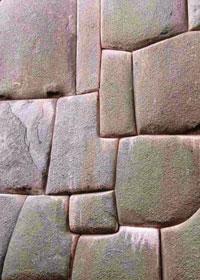 Particolare dei megaliti di Cuzco