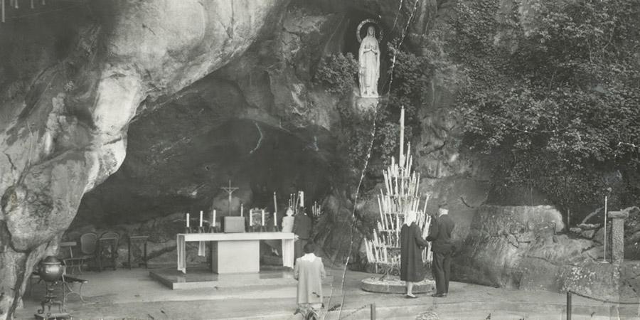Il primo miracolo della Madonna di Lourdes
