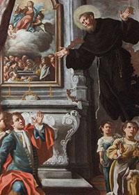 Levitazione di San Giuseppe da Copertino