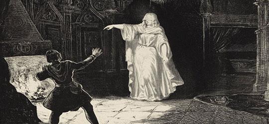 La dama bianca foriera di morte e disgrazie