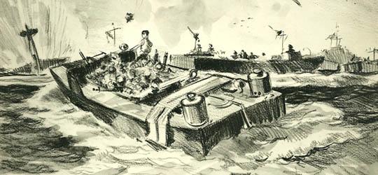 Percezioni uditive del raid su Dieppe