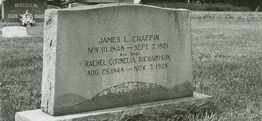 Tomba di James Chaffin