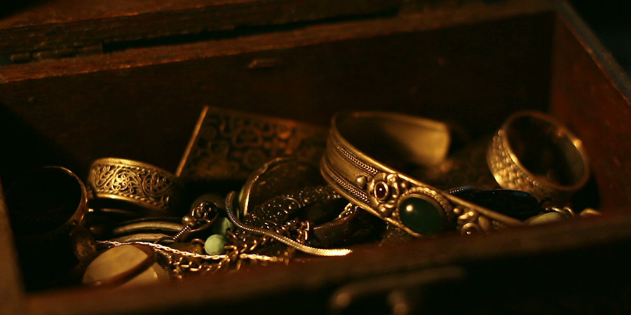 Il sogno precognitivo di un tesoro sepolto