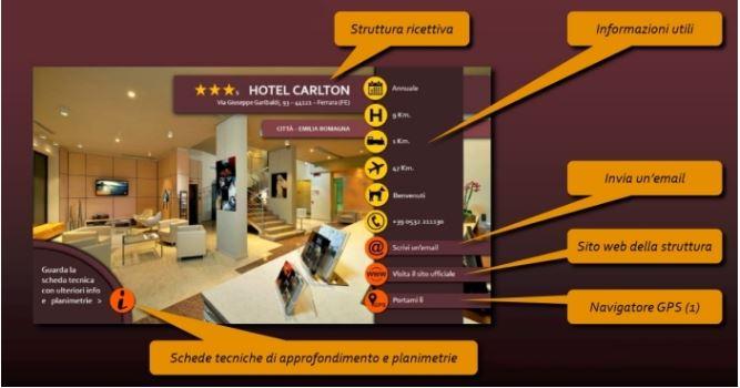 schermata guida turismo accessibile