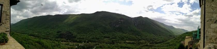 vista da Torre del Cornone