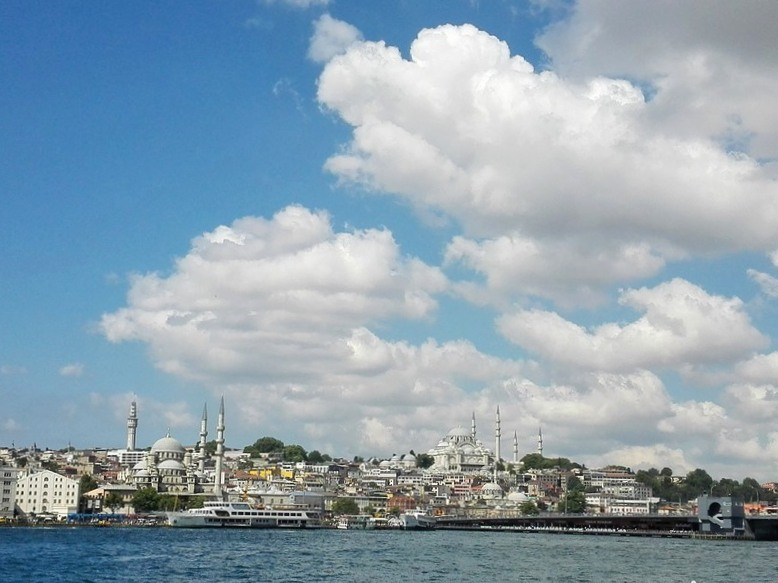 Istanbul dal mare