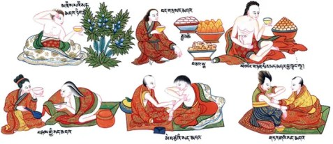 ku-nye massaggio tibetano
