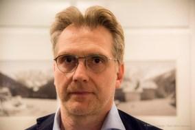 Fabio Vitucci, foreign rights manager Scalpendi Editore. Aosta, Aprile 2018