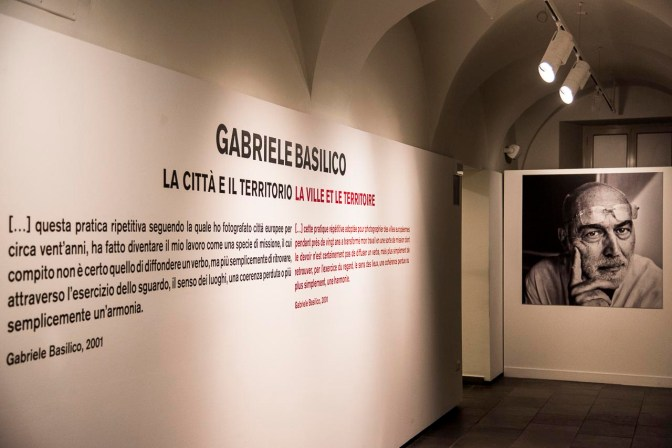 Gabriele Basilico, La città e il territorio. Aosta, Aprile 2018, Museo Archeologico Regionale