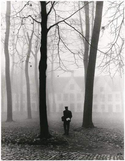 Fulvio Roiter, Beguinage, Bruges (Belgio) 1960 © Fondazione Fulvio Roiter