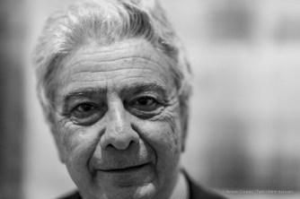 "Aldo Colonetti, philosopher, historian, art, architecture and design theorist, curator. Milano, May 2018. Nikon D810, 85 mm (85 mm ƒ/1.4) 1/125"" ƒ/1.4 ISO 900"