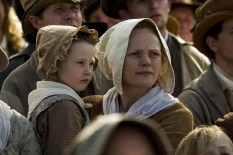 PETERLOO featuring Alicia Turner as Sarah and Maxine Peak as Nellie courtesy of Amazon Studios.