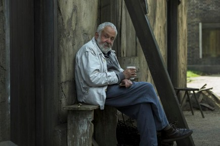 PETERLOO featuring Director Mike Leigh behind the scenes courtesy of Amazon Studios.