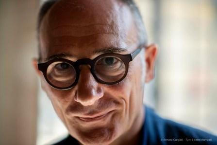 Denis Curti, direttore artistico, Casa dei tre Oci. Venezia settembre 2018.