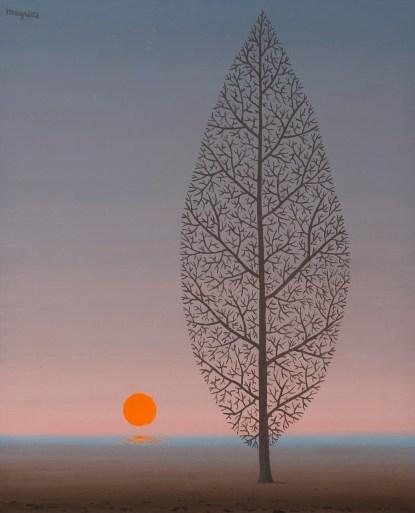 René Magritte, La Recherche de l'Absolute (1951)