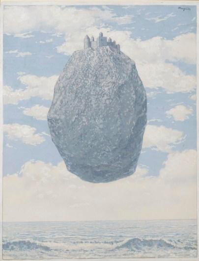 René Magritte, Le Chateau des Pyrenées (1962)