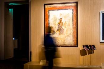 Anonimo, Affresco raffigurante Marte e Venere (I secolo d.C.). Intonaco dipinto; 163 x 126 x 7 cm; inv. 9249 Napoli, Museo Archeologico Nazionale di Napoli