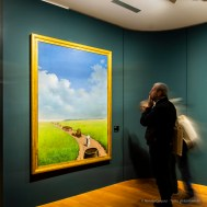 René Magritte, La jeunesse illustréè 1937. Olio su tela 184 x 136 cm. Rotterdam, Museo Boijmans Van Beuningen