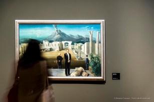 Carel Willink, Late bezoekers van Pompei 1931. Olio su tela 92 x 142. Rotterdam, Museo Boijmans Van Beuningen