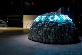 Mario Merz, Object cace toi (1968). Installation view Pirelli HangarBicocca 2018. Sonnabend Collection, New York. Photo: © Renato Corpaci