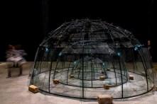 Mario Merz, Senza titolo 1984. Installation view at Pirelli HangarBicocca, Milano, 2018. MAXXI-Museo Nazionale delle Arti del XXI secolo, Roma. Photo: © Renato Corpaci