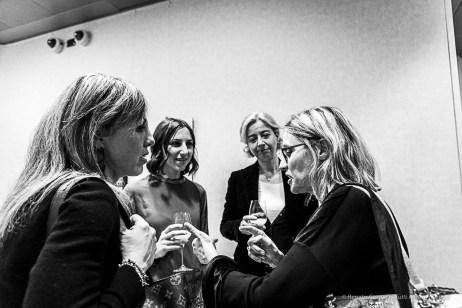 """Inaugurazione della mostra del fotografo Gerald Bruneau Una vita da scienziata – I volti del progetto #100esperte"""" . Milano, gennaio 2019"""