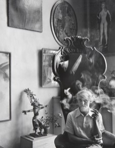10) Arnold Newman, Max Ernst, NYC, 1942