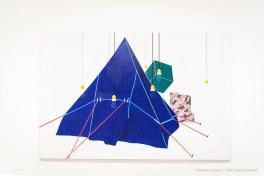 Emilio Tadini, Viaggio in Italia, 1971 acrilici su tela - acrylics on canvas, 200 x 300 cm
