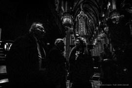 Da sx: Giorgio Squinzi, Amministratore Unico Mapei; Felice Confalonieri, Presidente Veneranda Fabbbrica del Duomo; Diana Bracco, Presidente Fondazione Bracco