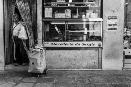 Macelleria da Sergio. Murano, Venice Laguna, September 2018.