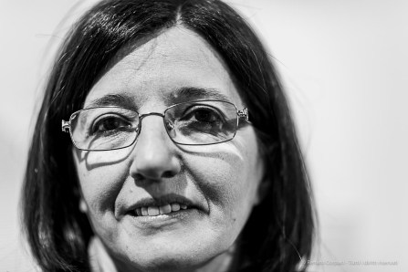 Elena Pontiggia, art historian, critic, professor of Contemporary Art History, Accademia di Brera.. Milano, April 2019. Milano, April 2019. Nikon D810, 85 mm (85 mm ƒ/1.4) 1/125 ƒ/1.4 ISO 220