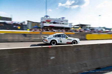 """Marco Superti, in coppia con Giulia Paganoni, con la Porsche 911 Rsr Gruppo 4, ha vinto per la seconda volta il Milano Rally Show, nella categoria"""" auto storiche"""""""