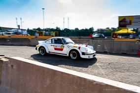 """Walter Ben, quarto classificato nella categoria """"auto storiche"""" con la Porsche 911 Sc Gruppo 4 navigata da Raffaele Corollo"""
