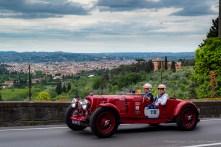Silvia Marini e Francesca Ruggeri, Aston Martin 2 Litre Speed Model 1937