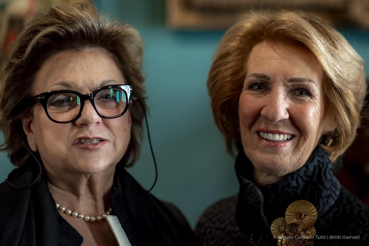 Gabriella Belli e Cristina Carlon