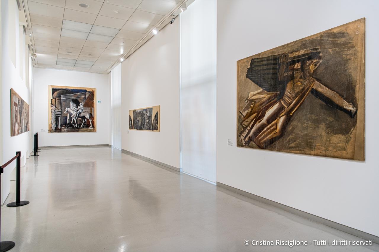 Mario Sironi al Museo del Novecento nel 2021