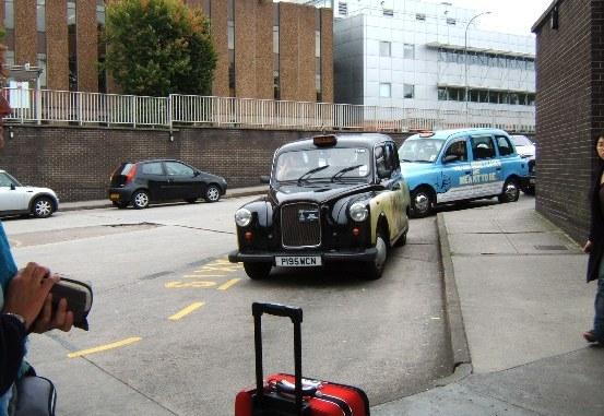 Taxi in scozia