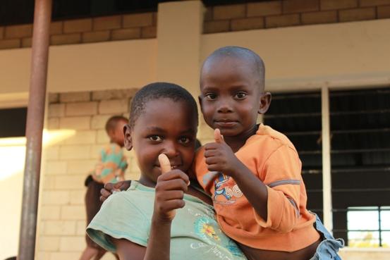 I bambini del Kenya