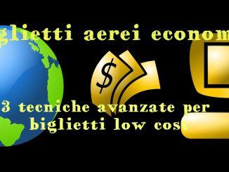 COME PRENOTARE BIGLIETTI AEREI ECONOMICI