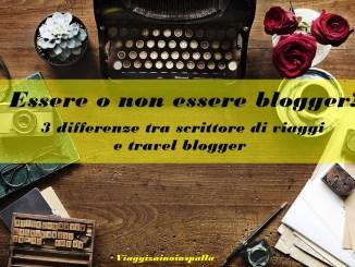 Essere o non essere blogger