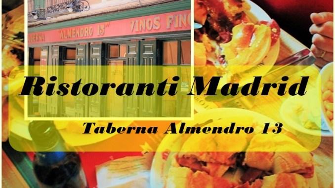 ristoranti Madrid